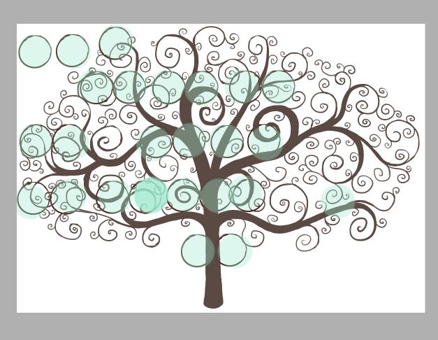 lutin desbois un arbre en pleine croissance des petits dessins et des cubes. Black Bedroom Furniture Sets. Home Design Ideas